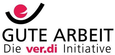Abbildung Logo der ver.di Initiative Gute Arbeit